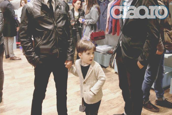 Fiul lui Șerban Copoț îi calcă tatălui pe urme! A inceput sa compuna versuri