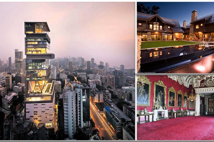 Cele mai scumpe case din lume te vor lasa cu gura cascata! Arata de milioane :)