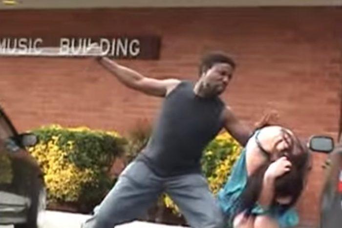 Discuta cu prietena lui in parcare cand a inceput sa o loveasca! Cine a intervenit si ce a patit barbatul in final VIDEO