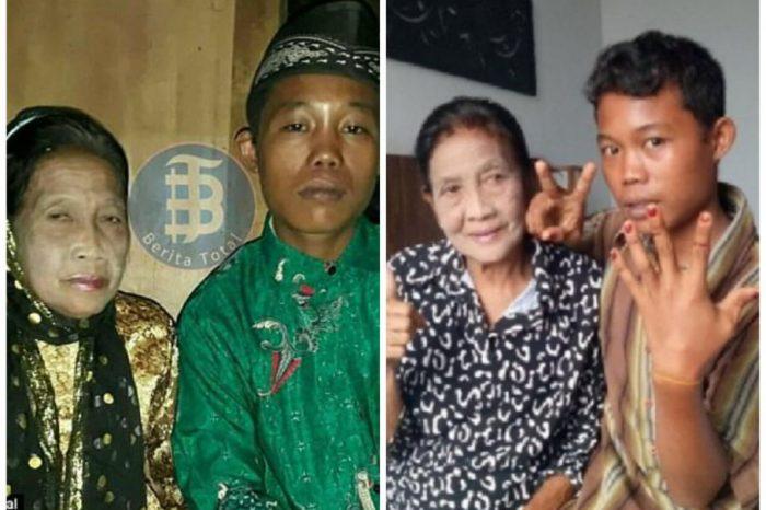 S-au indragostit nebuneste, desi el are 16 ani si ea 71! Cei doi sunt casatoriti si planuiesc sa aiba copii. Cum intretin relatii intime