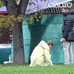 Imagini rare cu Iulia Albu! A iesit in parc alaturi de fiica si iubitul ei VIDEO
