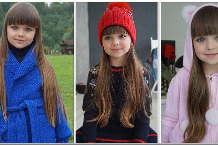 Fetita de 6 ani catalogata cea mai frumoasa din lume! Cum arata micuta si de unde este. Pare o papusa vie!