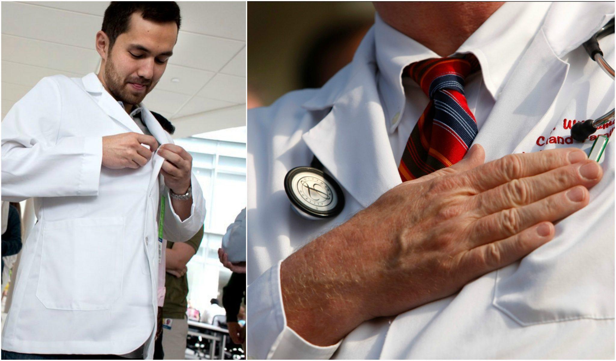 De ce doctorii poarta halate albe