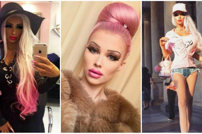 "Abia si-a sarbatorit majoratul, dar s-a transformat in papusa umana Barbie. DE CE si-a dorit adolescenta sa fie total de ""plastic"": ""La 16 ani..."""