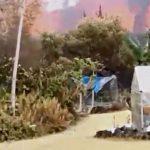 Barbatul a descoperit un vulcan care arunca lava