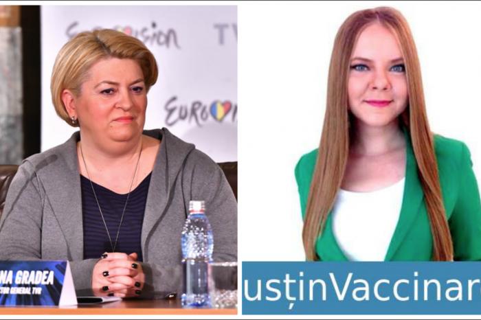 """Cine este si cum arata reporterita facuta """"cap de porc"""" de Doina Gradea, sefa TVR! Este scandalul momentului! VIDEO"""