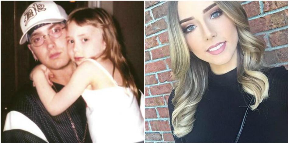 Cum arata fiica lui Eminem