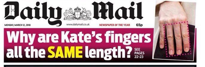 Kate Middleton socheaza. Ce se intampla cu degetele sale (2)