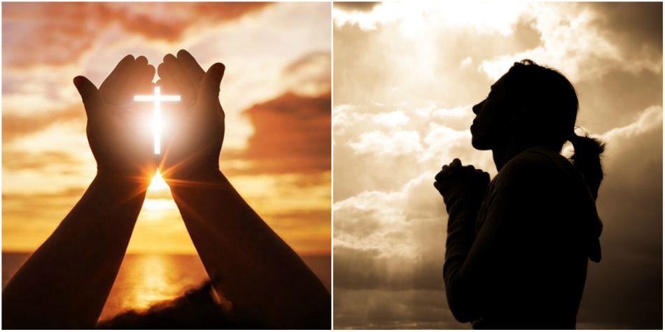 Femeia a devenit extrem de religioasa peste noapte