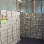 Încălţăminte contrafăcută de 2,8 milioane de lei, descoperită în Portul Constanţa