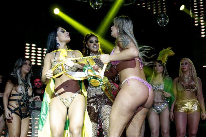 Bataie la Miss Bumbum, in Brazilia! Concurentele s-au agresat pe scena VIDEO