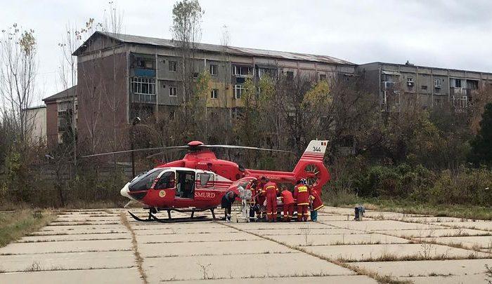 Florin Busuioc, transferat cu elicopterul la Spitalul Fundeni din Bucuresti. Care e starea lui