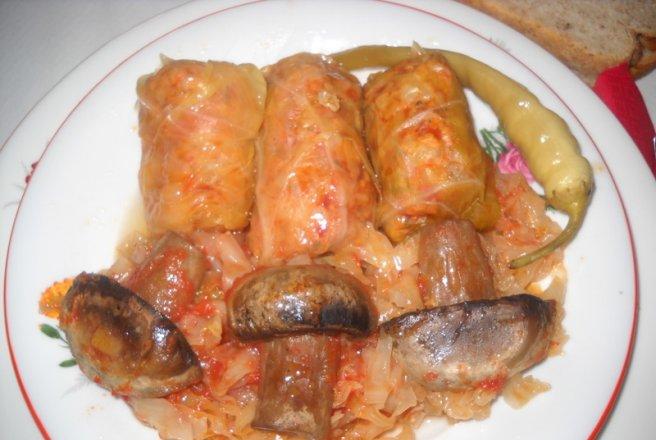 Reteta sarmale de post cu soia, orez si ciuperci (3)
