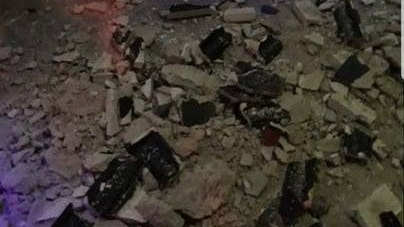 A cazut tavanul in clubul Control din Bucuresti