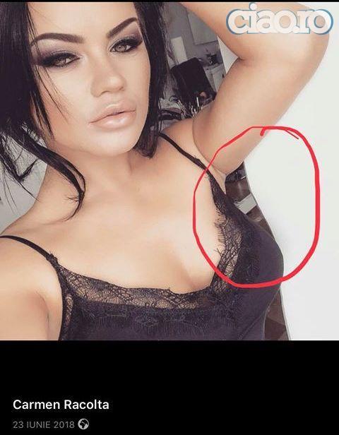 Carmen de la Salciua, photoshop rusinos! Cum isi minte fanii de pe Facebook (2)
