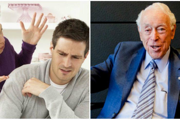 Barbatul s-a dat drept surd si mut pentru 62 de ani dintr-un motiv ireal! Sotia lui era prea enervanta ca s-o suporte! :))