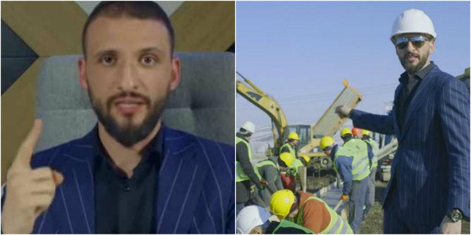Cine este tanarul afacerist care a construit primul metru de autostrada din Moldova, din fonduri proprii