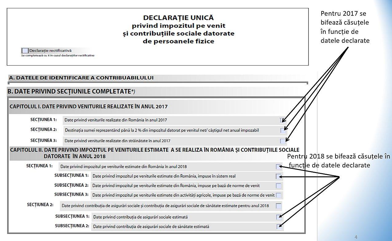 Declaratia Unica in 2019 cand si cum se depune acest act la ANAF