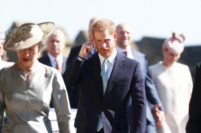 Dovada ca Printul Harry si Printul William se evita. Ce a facut Ducele de Sussex la slujba de Paste VIDEO