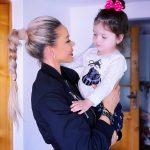 Bianca Dragusanu si fiica ei