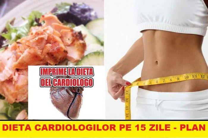 Dieta cardiologilor te ajuta sa slabesti 2 kg pe zi. Ce trebuie sa mananci