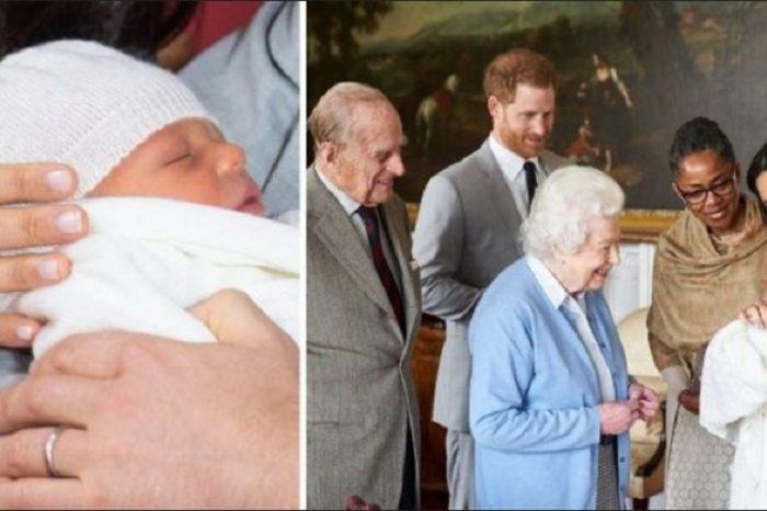 Cum arata bebelusul regal? Meghan Markle a publicat prima poza cu chipul fiului sau, Archie