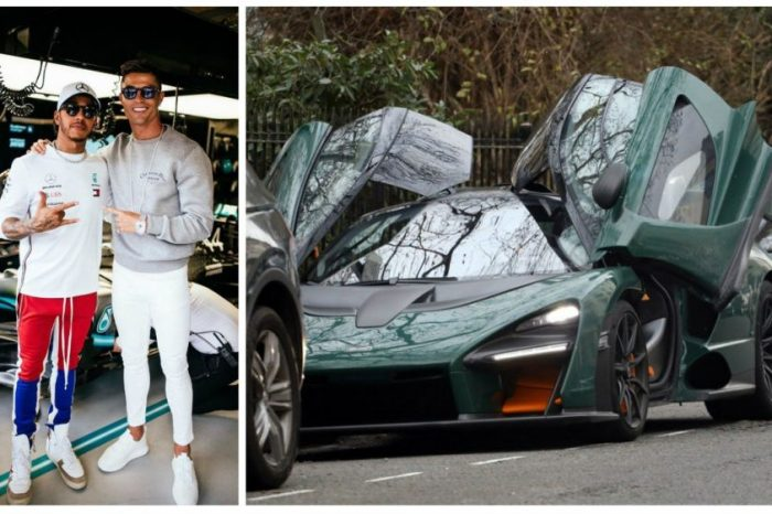 Cristiano Ronaldo si-a luat McLaren Senna. A dat O AVERE pe aceasta masina. Noi doar visam la ea! VIDEO