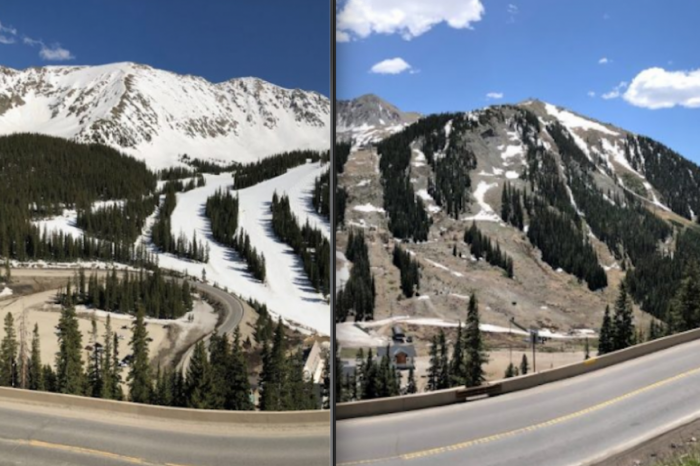 A nins in plina vara! Scenele incredibile au fost imortalizate si viralizate pe internet VIDEO