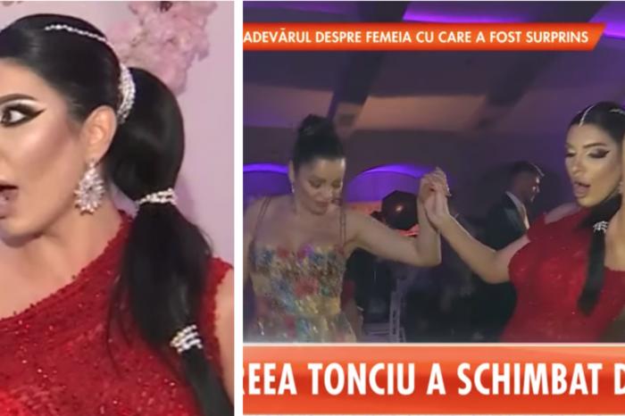 Andreea Tonciu, nasa pentru prima data! Si-a facut un look ca Jasmine din Aladin si a dansat pe manele cu Brigitte si Florin Pastrama! VIDEO