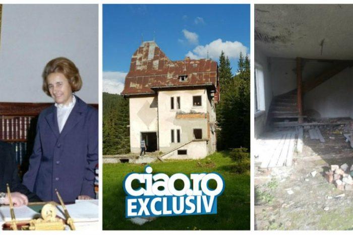 EXCLUSIV. Casa secretă a lui Nicu Ceaușescu e o paragina! Cum arată acum vila din Munții Călimani