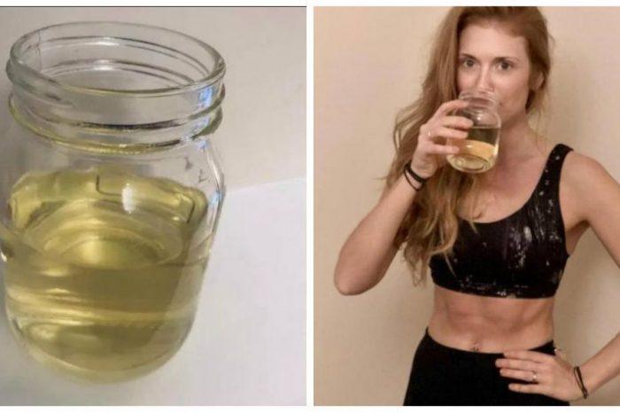 Isi bea propria urina pentru sanatate! Ce boli i-a vindecat acestei femei care practica yoga