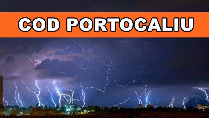 ANM schimbă prognoza. Cod portocaliu de furtună