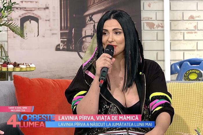 """Lavinia Pirva, aparitie la tv cu un decolteu impresionat! """"Am luat cateva kilograme in plus, dar eu zic ca arat destul de bine!"""""""