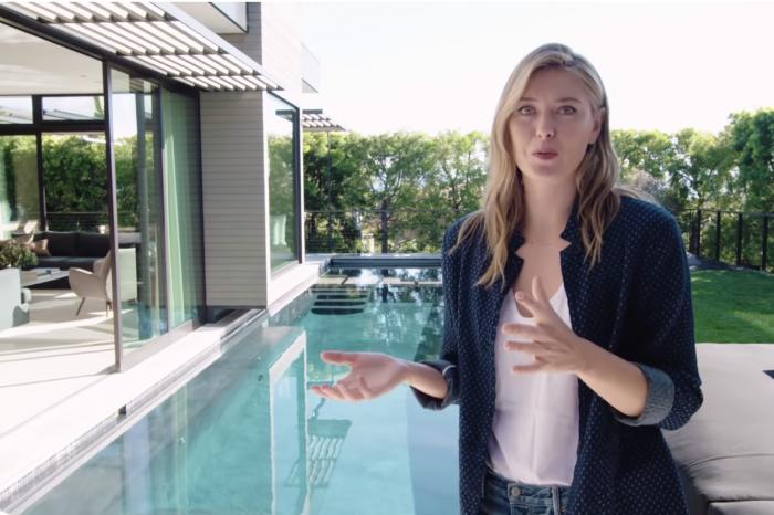 Casa de milioane de dolari a Mariei Sharapova din L.A.! Are 3 etaje, 2 piste de bowling si arata dement VIDEO