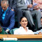 Meghan Markle si Kate Middleton au venit impreuna la Wimbledon