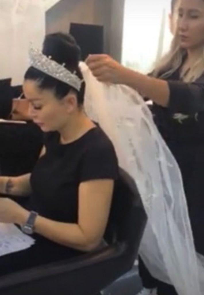 Nunta lui Brigitte Sfat cu Florin Pastrama, live pe Facebook