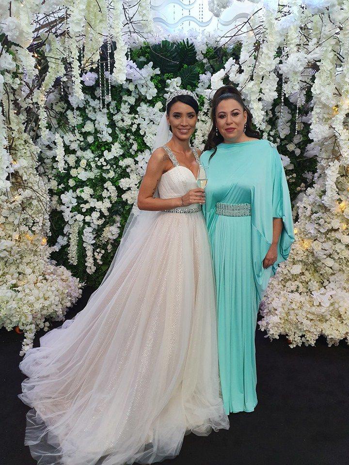 Oana Roman, slaba la nunta Adelinei Pestritu (2)