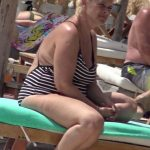 Sotia lui Horia Brenciu a aparut in costum de baie