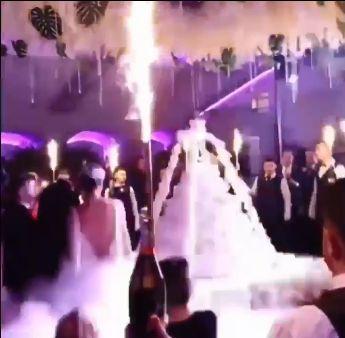 Tortul de nunta al Adelinei Pestritu, aparitie inedita (4)