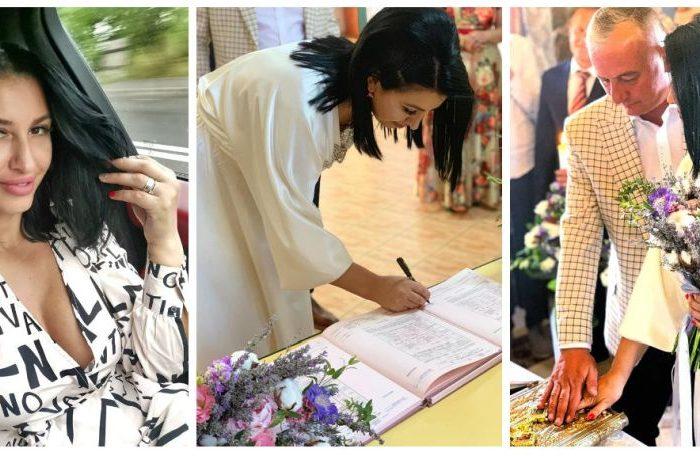 Mirela Banias de la Insula Iubirii s-a casatorit! Cum a arata rochia ei
