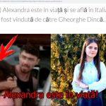 Un site sustine ca Alexandra Macesanu traieste