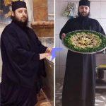 Părintele Efrem de la Mănăstirea Dervent a slăbit 12 kilograme