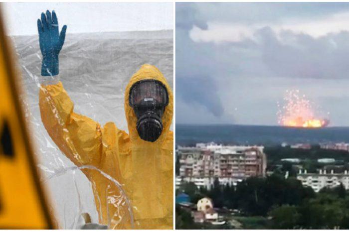 Analize de radioactivitate in nordul Romaniei, dupa explozia nucleara din Rusia VIDEO