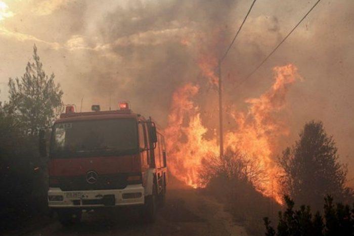 Aproximativ o mie de turiști au fost evacuați în insula Samos din Grecia din cauza incendiilor