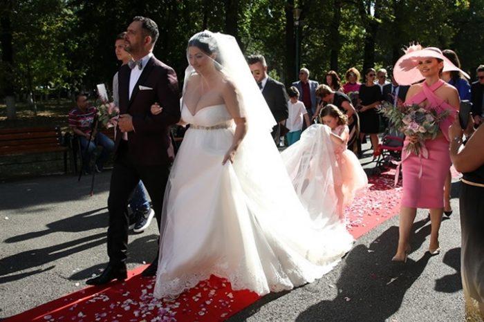 Scandal mare la nunta Gabrielei Cristea cu Tavi Clonda. Un anumit detaliu a starnit reale controverse