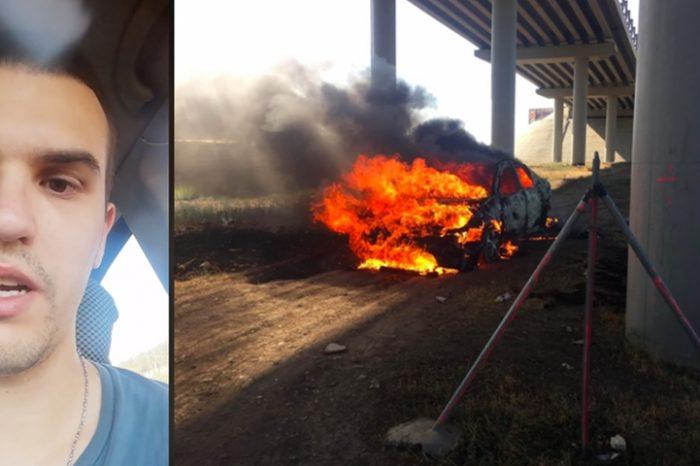 """Mesajele socante ale parintilor lui Adrian Lipan, tanarul care si-a dat foc in masina, in Medgidia: """"Am crescut un sarpe, nu un copil!"""""""