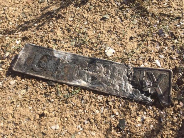 Un tanar de 25 de ani si-a dat foc in masina sub podul de pe Autostrada Soarelui!