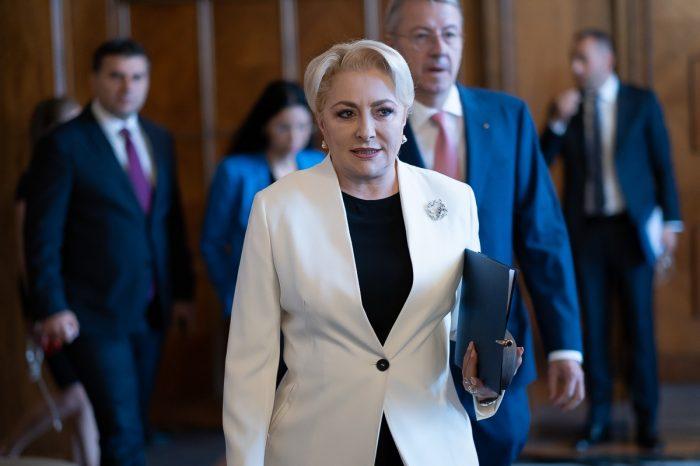 Viorica Dăncilă este una dintre cele mai elegante femei din politică