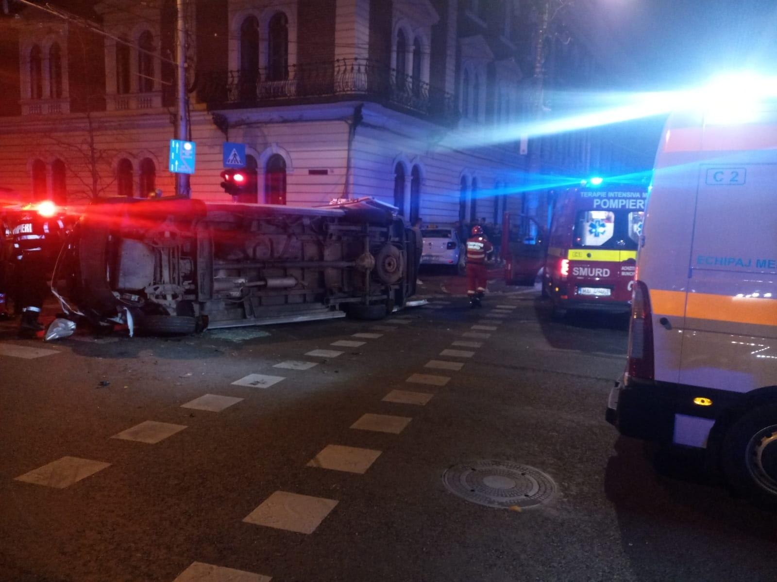 Șase persoane au fost rănite