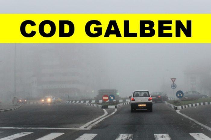 Cod galben de ceaţă în București și 12 judeţe. Ceață densă și pe Autostrada Soarelui